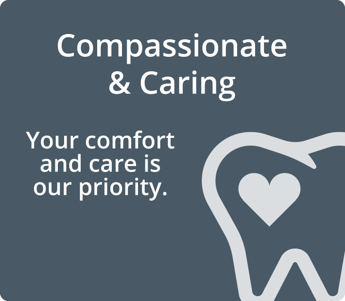 Compassion and caring are core values at Crossroads Family Dental